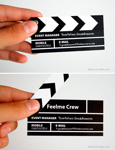 Feelme Crew Business Card