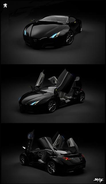 PEUGEOT 3d concept car