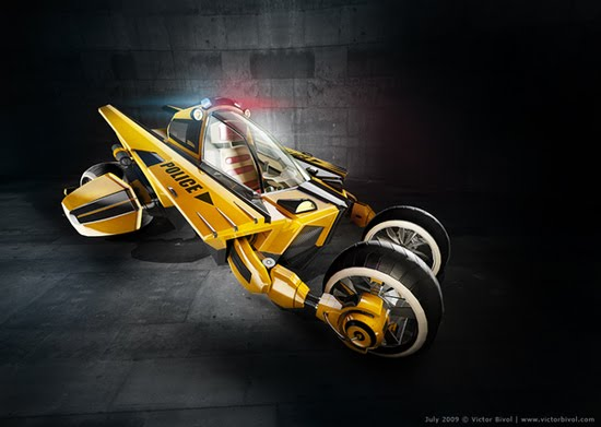 Victorious Beast 3d car design