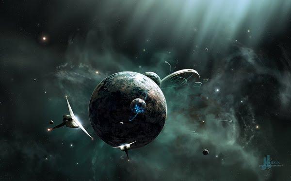 Relativitas space art
