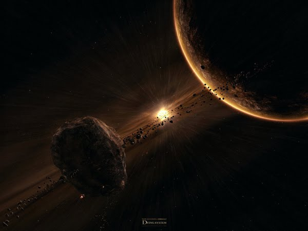 Dying System space art