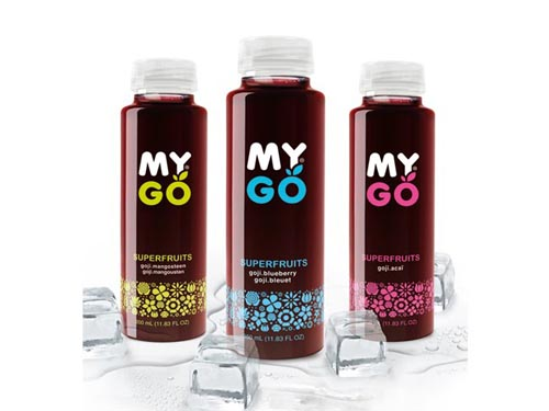 MYGO Super Fruits Packaging