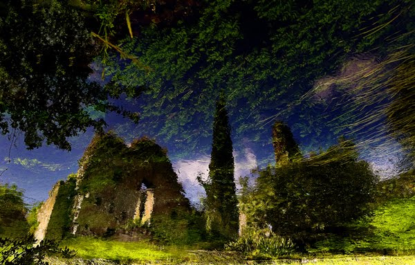 reflected ruins