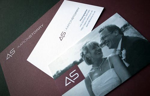 Aaron Storry Photography Business Card
