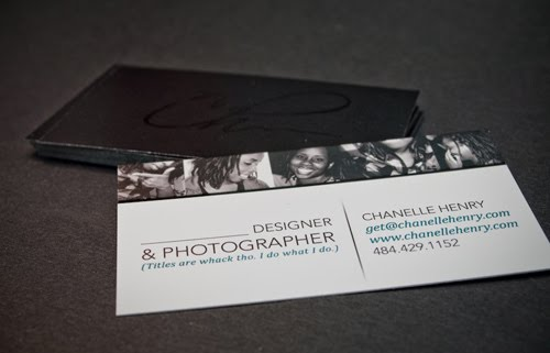 Chanelle Henrys Business Cards
