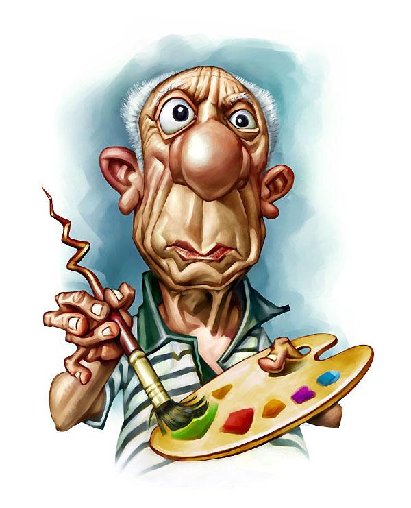 PICASSO caricature