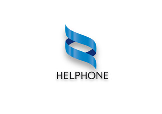 Helphone Logo Design