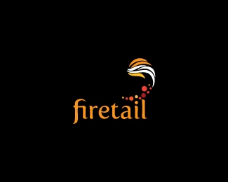 Fire tail Fire Logo Design