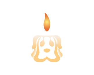 Smelly Dog Candles_Concept logo design