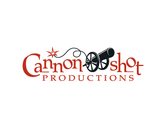 Cannon Shot Productions Logo Design