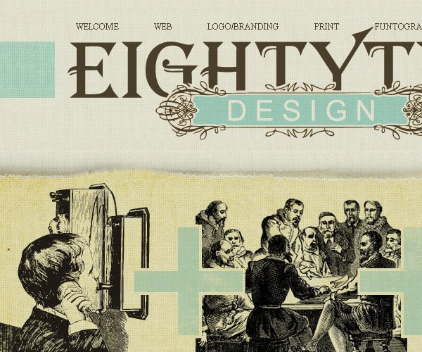 eightytwodesign vintage web design