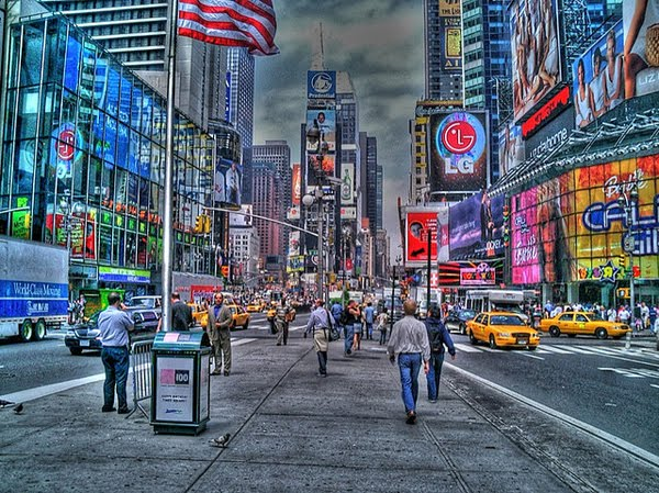 New York Time Square by piasta