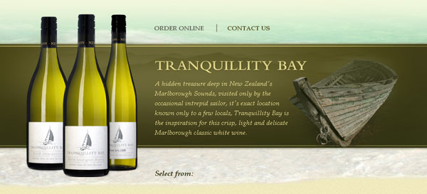 Tranquillity Bay Web Design