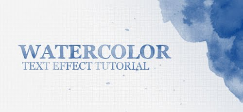 Create a Watercolor Text Effect in Photoshop