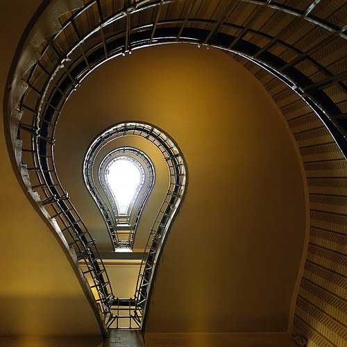 enlightenment spiral stairs photo