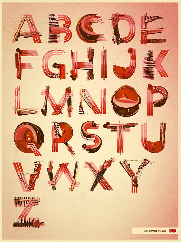 Baroquen typography