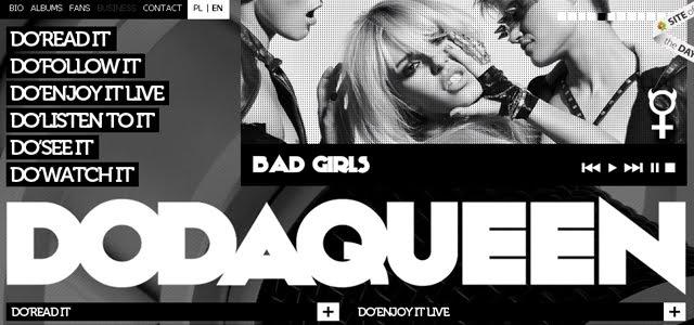 dodaqueen web design