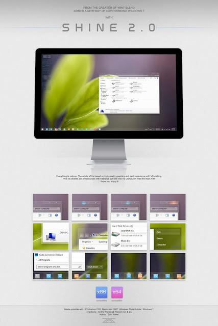 Shine 2.0 for Windows 7