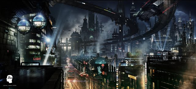 Futuristic City