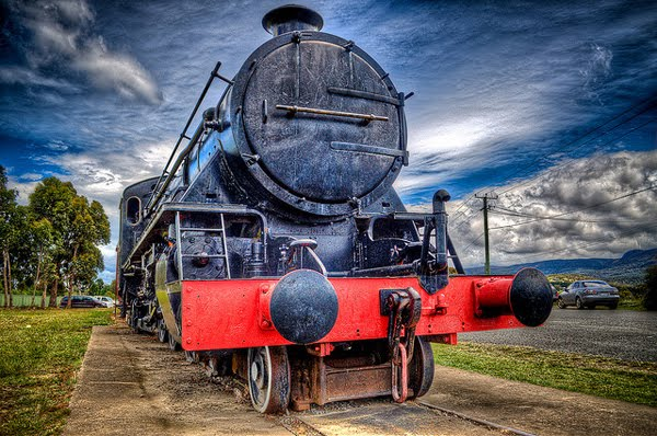 Margate Train HDR