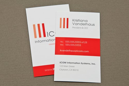 IT Consulting Business Card