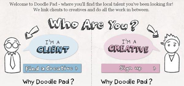 Doodle Pad Web Design