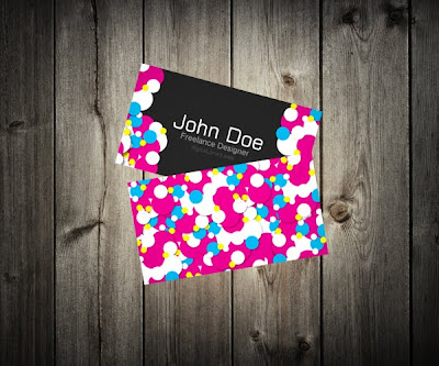 Creating a Colorful Vibrant Business Card