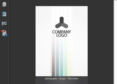Design a Clean Striped Business Card in Illustrator