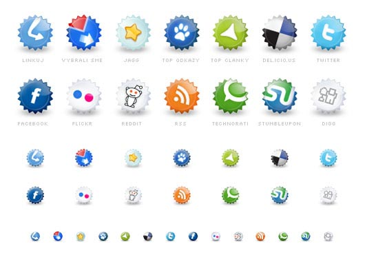 75 Most Creative Free Social Media Icon Sets