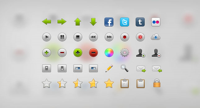 Fresh and Quality Icon Sets
