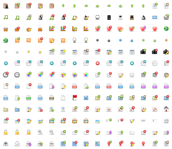 My Favorite Icon Sets