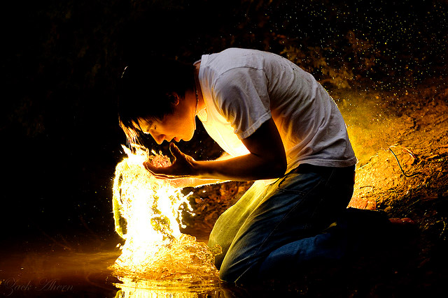 Out of His Heart Will Flow Living Water