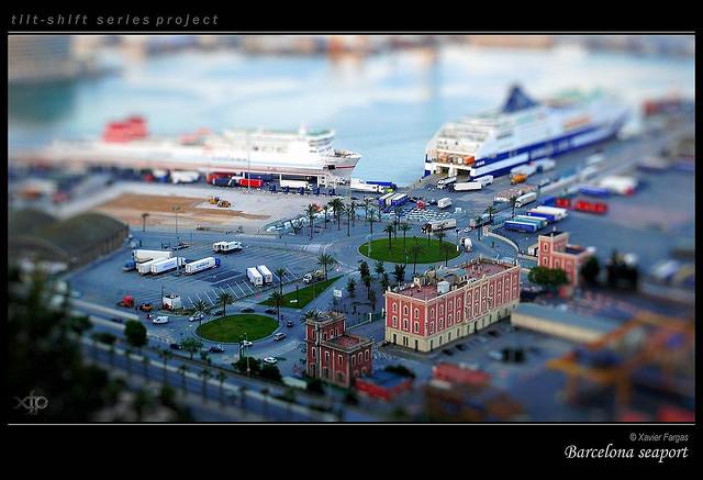 Barcelona seaport