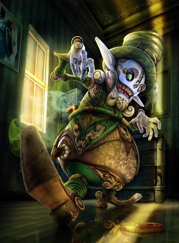 Leprechaun Steampunk