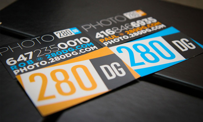 280dg Business Cards