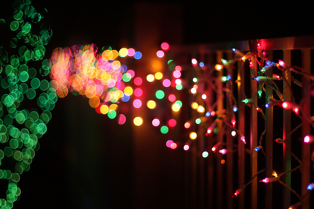 The magic of Christmas bokeh