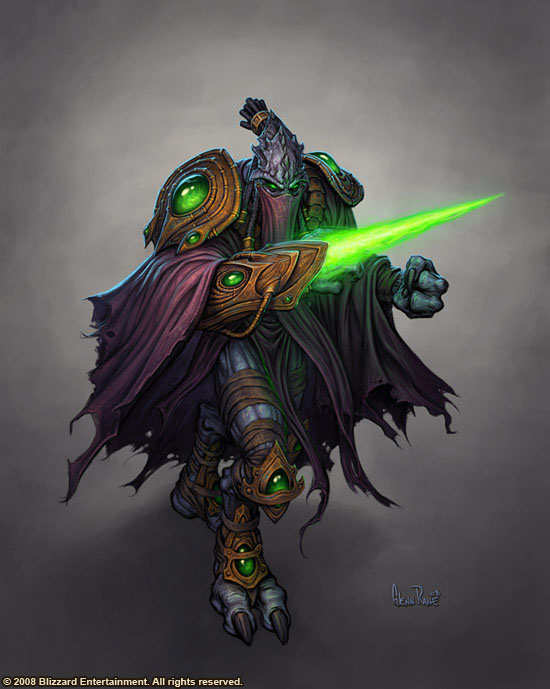 Starcraft  Zeratul by Arsenal21 6 20 Stunning Game Character Concept Arts