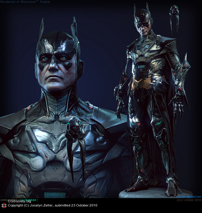 Blind Batman