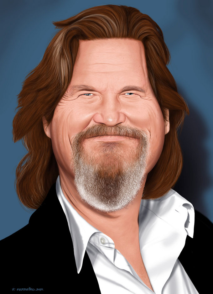 bigjeff13 25 Hilarious Digital Caricatures Of Famous People