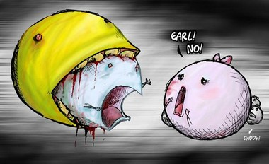 Pac Man Game Funny Pics 12