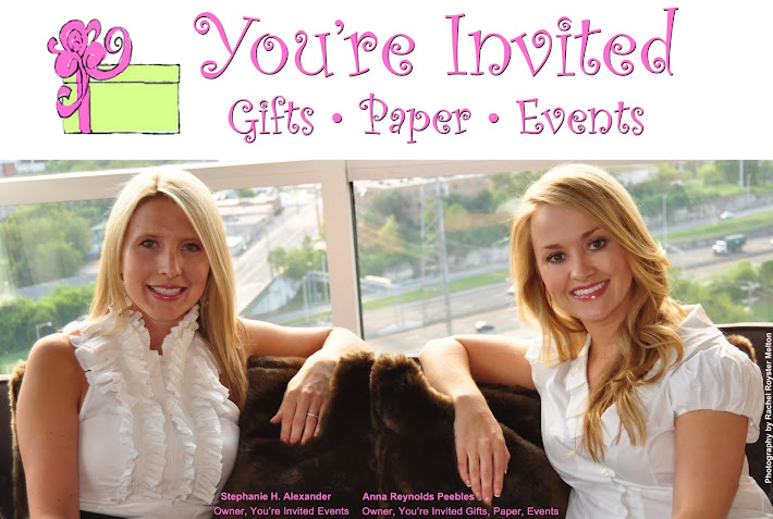 You're Invited Gifts, Paper, Events | Nashville Party Event Wedding Planner