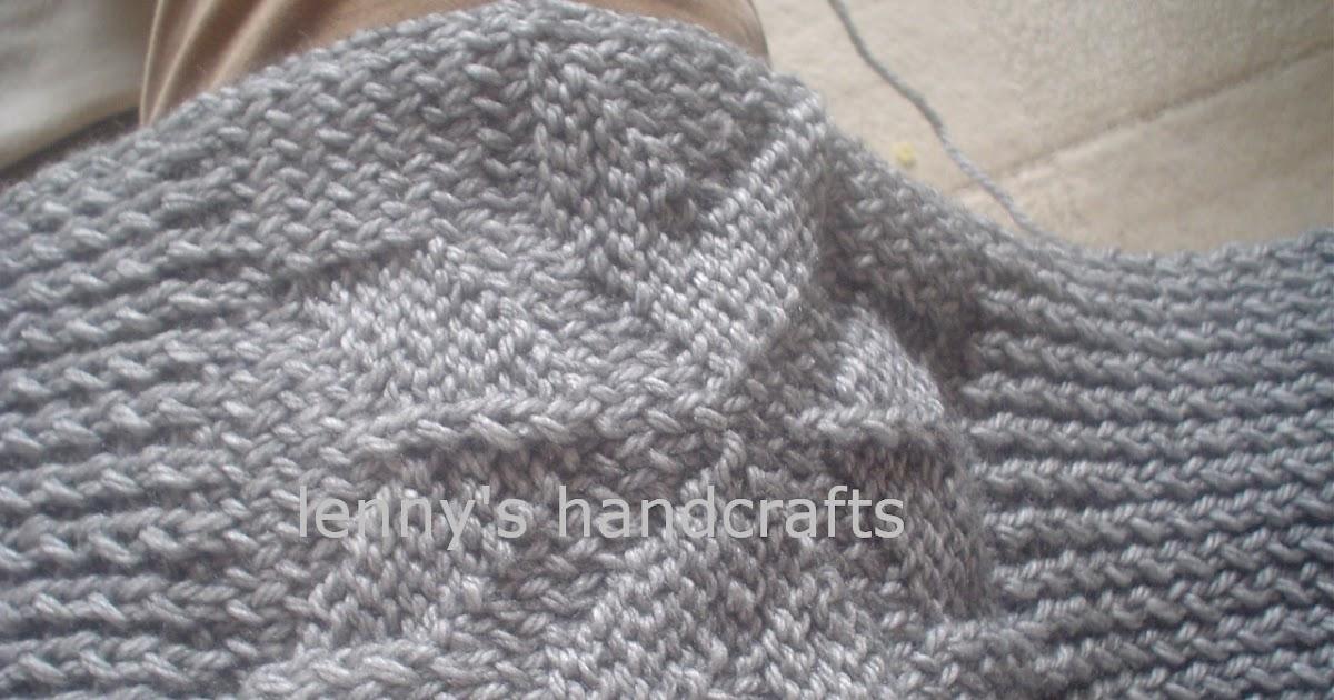 Knitted Artinya : Merajut knitting dengan benang syal buwat ayah