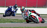 Amsoil Synthetic Oil Motorcycle Racing