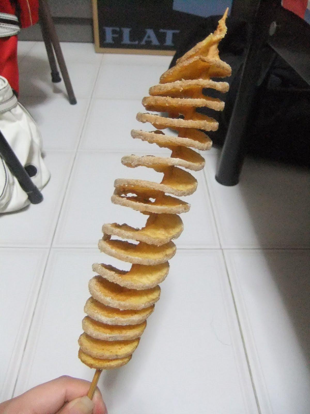 twist potato machine