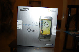 My Samsung Omnia (i900)