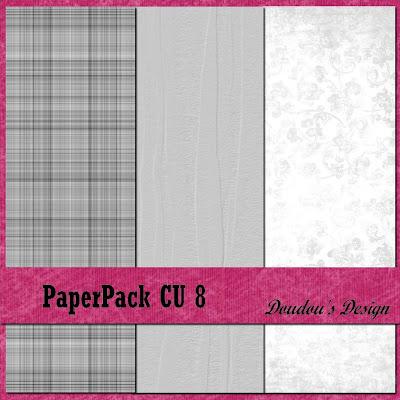 PAPERPACK CU 8 EN FREEBIE!!! from Doudou's Scrap PPCU8