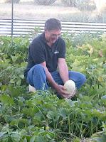 Gary in his garden