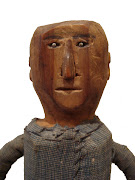 Early 20th Century Folk Art Carved Man. Posted by Joey at 8:17 AM