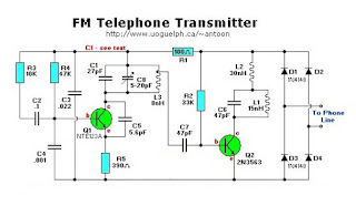FM Telephone Transmitter circuit