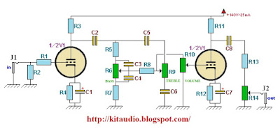 Wiring Schematic Diagram: Build a Tube Preamp for guitar ...